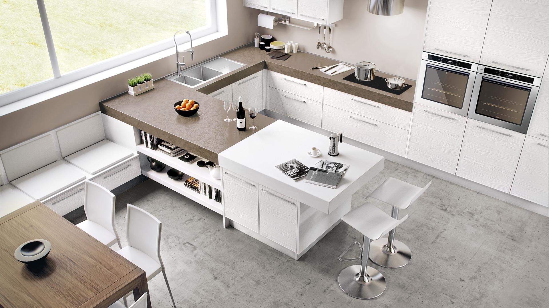 Cucine Moderne Con Isola Lube. Awesome Gallery Of Cucine Lube Per La ...