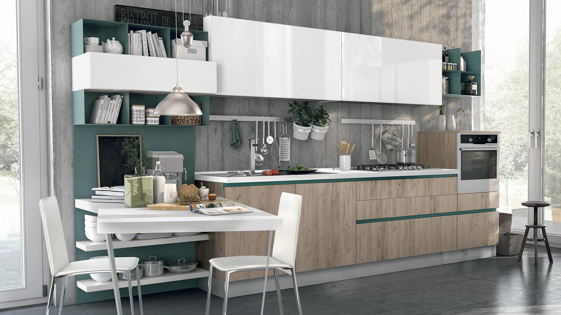 Cucina Moderna Lube Immagina - Arredamenti Lupo