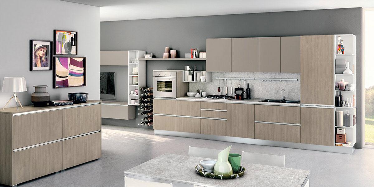 Cucina moderna creo kitchens nita arredamenti lupo - Offerte cucine componibili lube ...