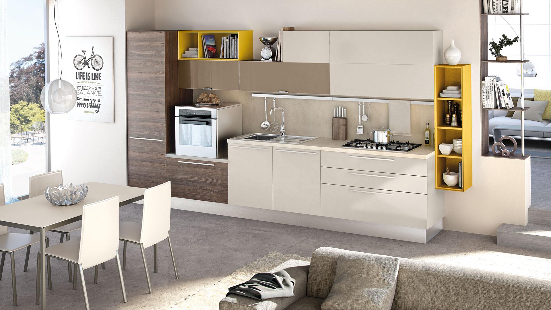 Cucina Moderna Lube Noemi - Arredamenti Lupo