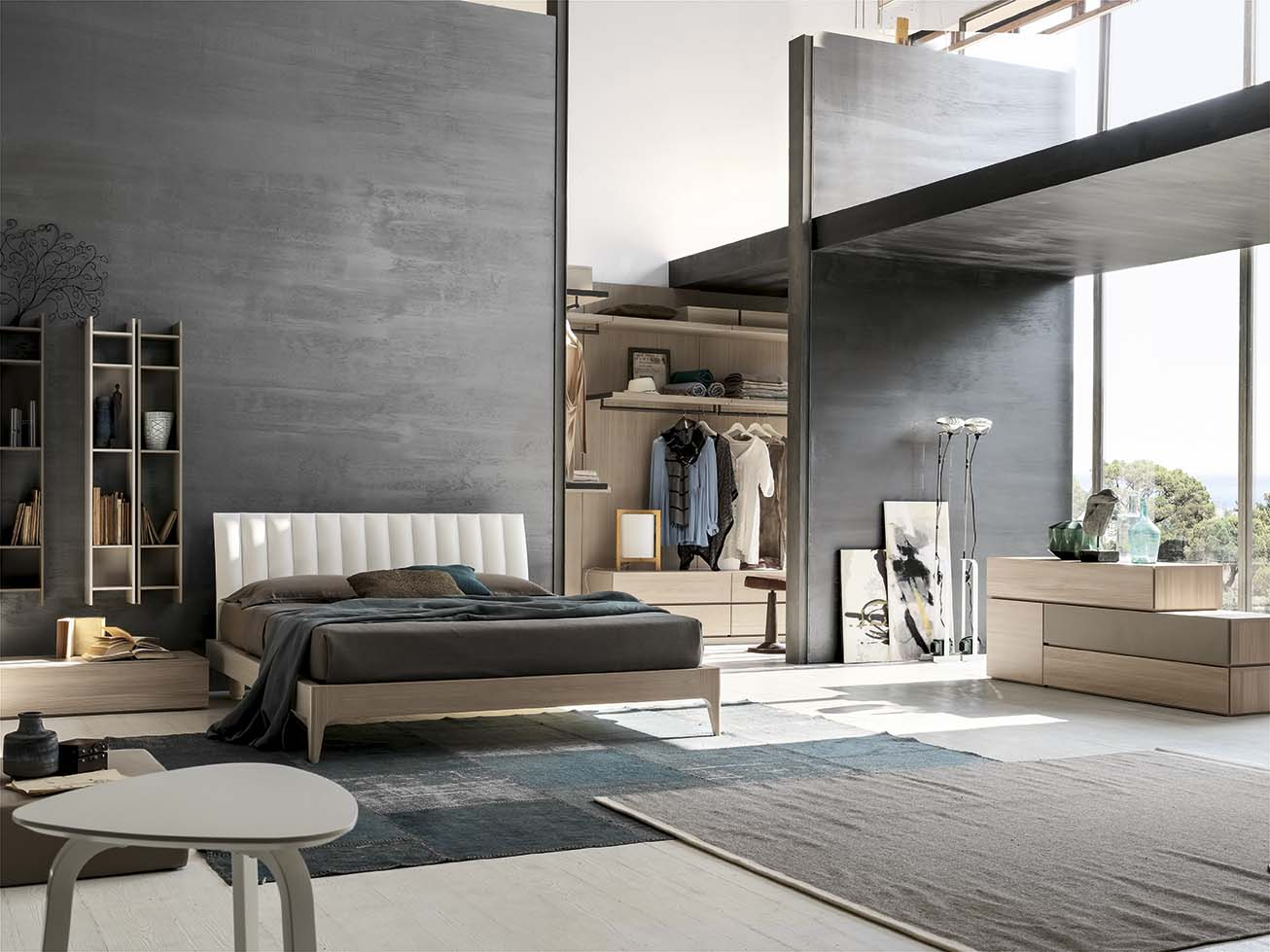 Camera da letto Santalucia Projecta 01 - Arredamenti Lupo