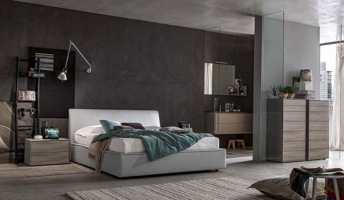 Camera da letto santalucia projecta 17 arredamenti lupo - Camera da letto santa lucia ...