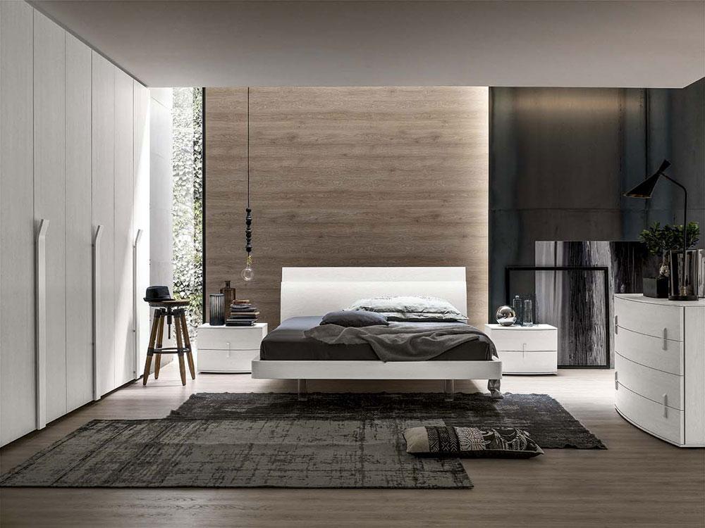 Camera da letto santalucia projecta 05 arredamenti lupo - Camera da letto santa lucia ...